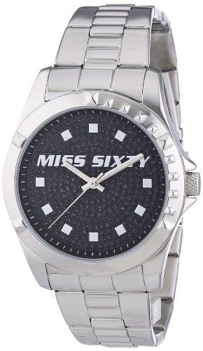 Miss Sixty Damen Armbanduhr Analog Quarz Edelstahl R0753128501