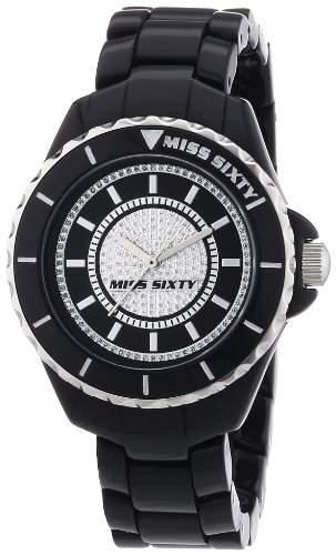 Miss Sixty Damen-Armbanduhr Analog Quarz Plastik R0753105502