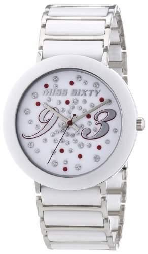 Miss Sixty Damen-Armbanduhr Analog Quarz Keramik R0753112501