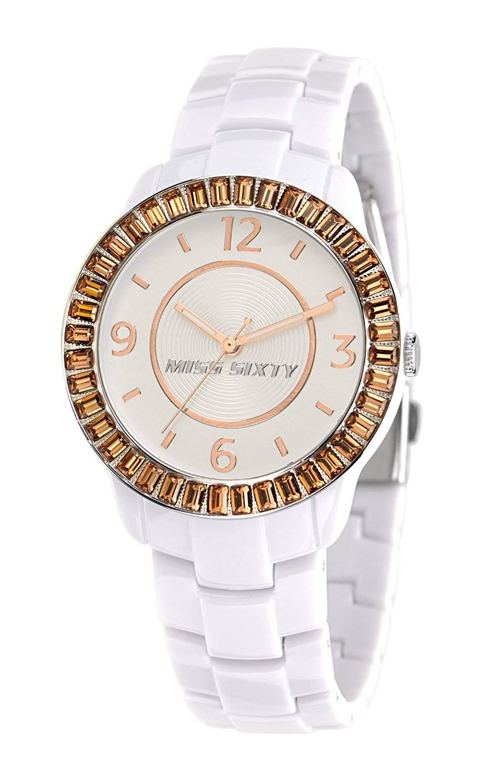 Miss Sixty Damen-Armbanduhr Analog Ceramic R0753118503