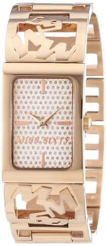 Miss Sixty Damen-Armbanduhr XS Analog Quarz Edelstahl R0753130501