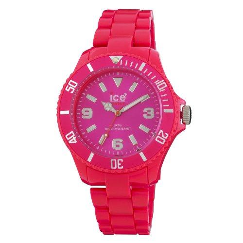 Ice Watch Unisex Armbanduhr Big Classic Fluo Pink CF PK B P 10