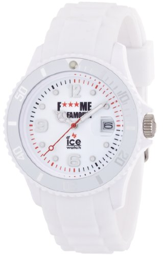 Ice Watch Unisex Armbanduhr F Me Im Famous Analog Quarz Silikon FM SI WE U S 11