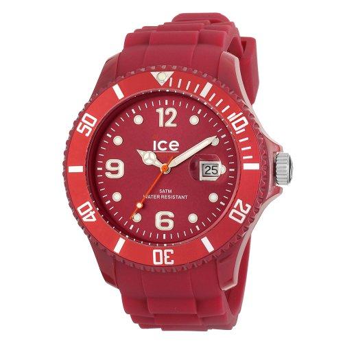 ICE WATCH Ice Winter 11 12 DEEP RED big Uhr SW DR B S 11