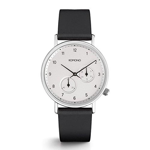 Komono Crafted Walther Nero Armbanduhr KOM W4002
