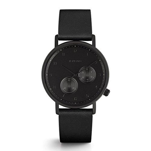 Komono Crafted Walther Raven Armbanduhr KOM W4004