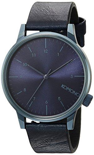 Komono Winston Regal All Blue Armbanduhr KOM W2266