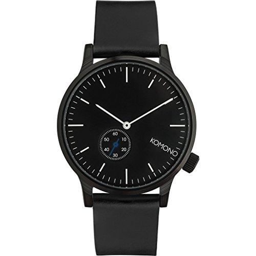 Komono Winston Subs Black Schwarz Armbanduhr KOM W3000