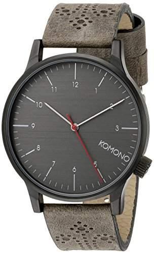 KOMONO Herren-Armbanduhr Analog Quarz Polyurethan KOM-W2014