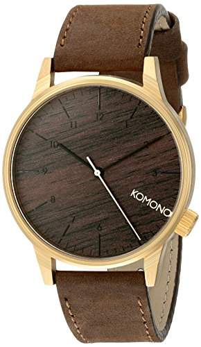 Komono Herren-Armbanduhr Analog Quarz Polyurethan KOM-W2021