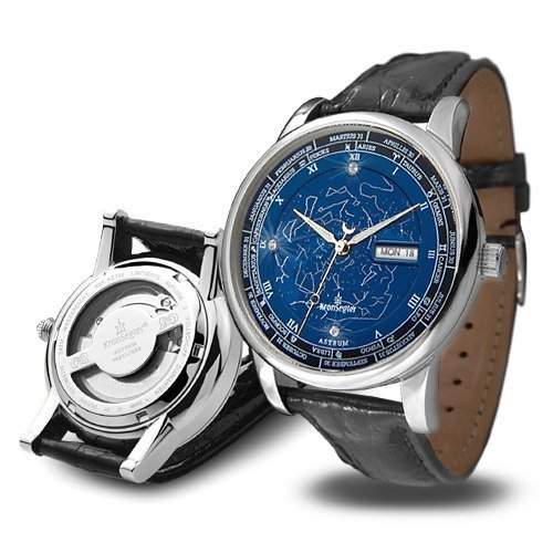 Kronsegler Astrum Automatik Brilliant stahl-blau