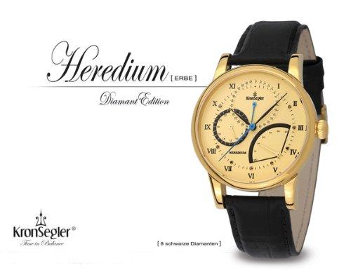 Kronsegler Heredium Diamond vergold gold