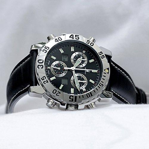 Astboerg Silverstone Herren Armbanduhr AT720S Alarm Sport Chronograph Analog Digital