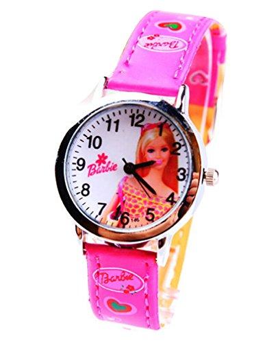 Barbie doll children kids cartoon Uhren Watches Belt Watch WP KTW161988M