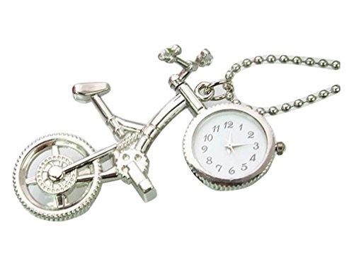 New small bicycle Taschenuhr Pocket Watch Chain Necklace Alloy Uhren watches WPH KTW127192A