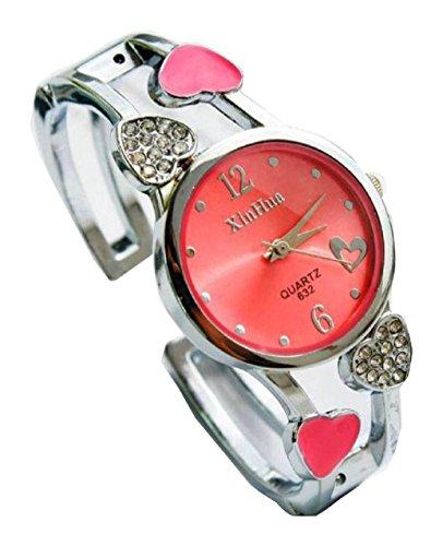 Bracelet Uhren Elegent fashion ladys womens bracelet watches wrist quartz bangle watch WPB KTW150840R