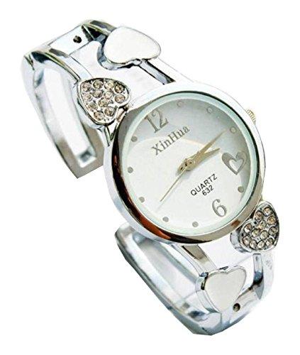 Bracelet Uhren Elegent fashion ladys womens bracelet watches wrist quartz bangle watch WPB KTW150840W