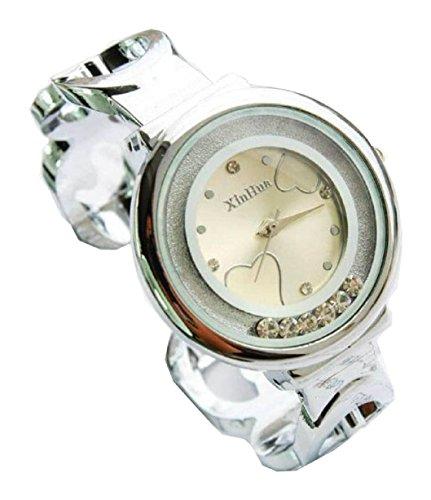 Bracelet Uhren Elegent fashion ladys womens bracelet watches wrist quartz bangle watch WPB KTW150842DH