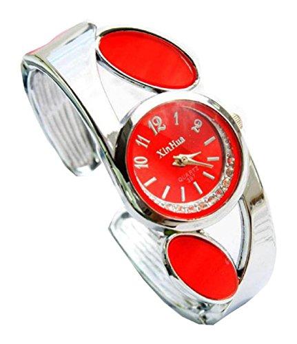 Bracelet Uhren Elegent fashion ladys womens bracelet watches wrist quartz bangle watch WPB KTW150856R