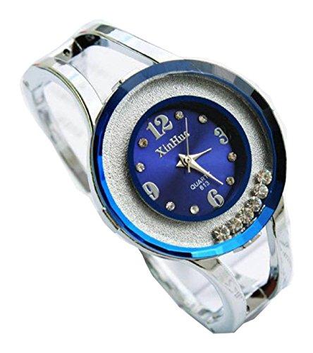 Bracelet Uhren Elegent fashion ladys womens bracelet watches wrist quartz bangle watch WPB KTW150860U
