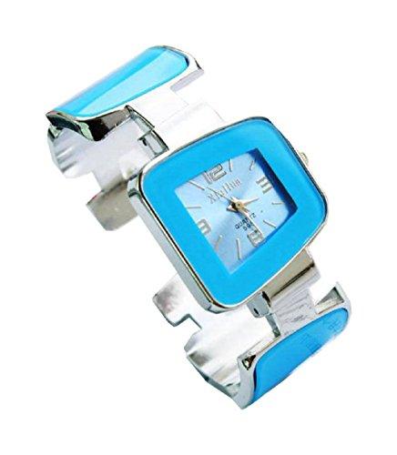 Bracelet Uhren Elegent fashion ladys womens bracelet watches wrist quartz bangle watch WPB KTW150867L