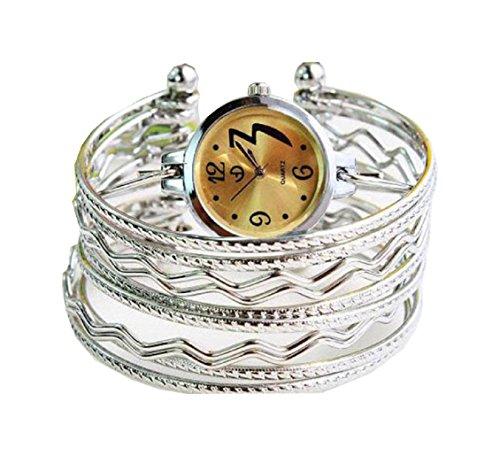 Bracelet Uhren Elegent fashion ladys womens bracelet watches wrist quartz bangle watch WPB KTW151156H