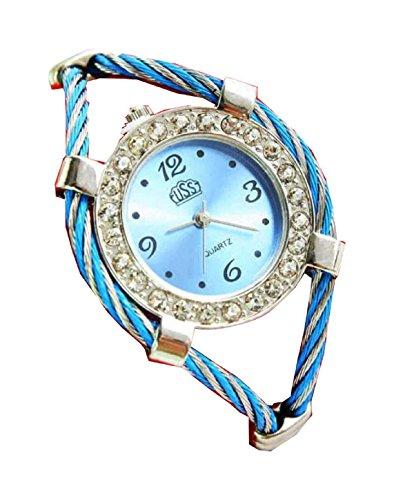 Bracelet Uhren Elegent fashion ladys womens bracelet watches wrist quartz bangle watch WPB KTW153781L
