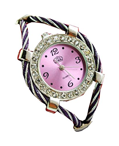 Bracelet Uhren Elegent fashion ladys womens bracelet watches wrist quartz bangle watch WPB KTW153781P