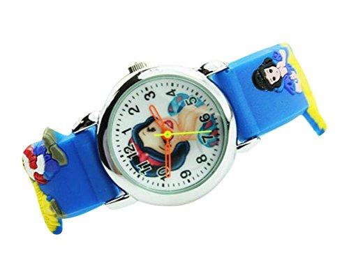 NEW Lovely Snow White children kids Kinder cartoon 3D Watch silicone Watches Uhren WP KTW127891U