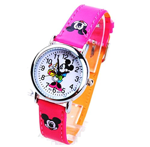 Disney Mickey children Uhren kids cartoon Watches leather Watch WP KTW160027M