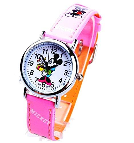 Disney Mickey children Uhren kids cartoon Watches leather Watch WP KTW160027P