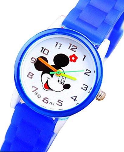 Mickey children kids cartoon Watches Silicone Disney Watch WP KTWMQ001U