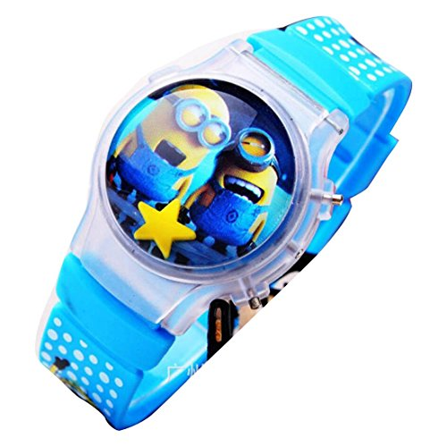 despicable me banana minions Uhren kids cartoon Watches Silicone Watch WP KTW176013L