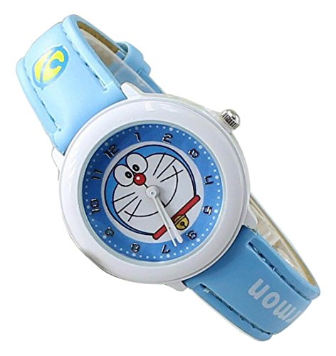 Doraemon children kids cartoon Watches leather Watch WP KTWDD002L