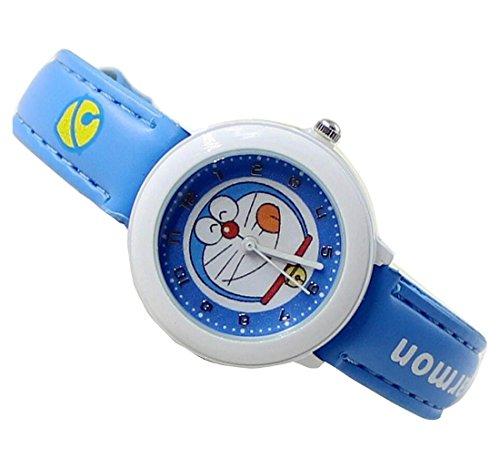 Doraemon children kids cartoon Watches leather Watch WP KTWDD002U