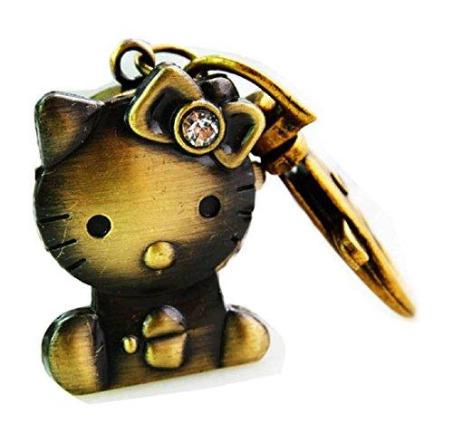 New hello kitty keyring Buckle Watch key chain Alloy Antique Bronze Uhren watches WPH KTW150191A