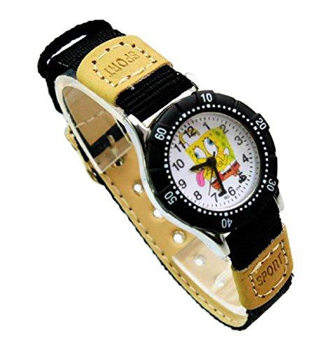 NEW Lovely SpongeBob SquarePants children kids Kinder cartoon Watch silicone Watches Uhren WP KTW157800B
