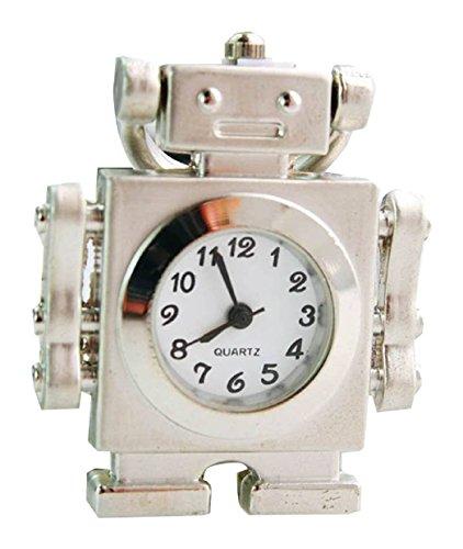 New robot Taschenuhr Pocket Watch Chain Necklace Alloy Antique Bronze Uhren watches WPH KTW144739A