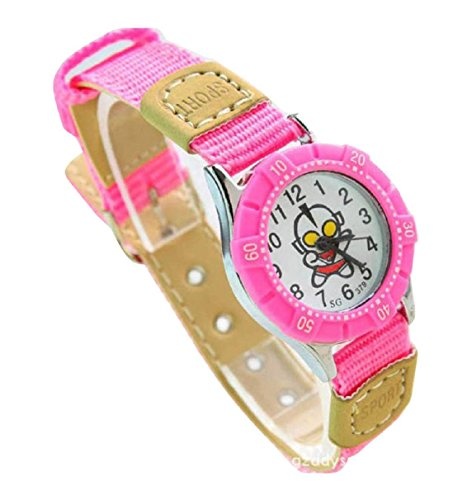 NEW Lovely Ultraman children kids Kinder cartoon Watches Uhren Textile Watch Band WP KTW147500P