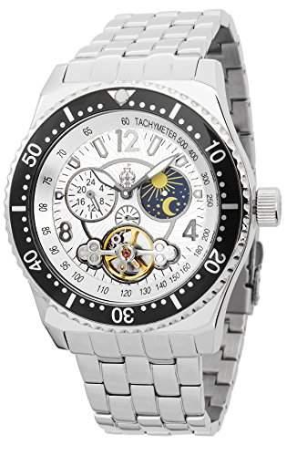 Burgmeister Herren-Uhren Automatik Pretoria BM155-111