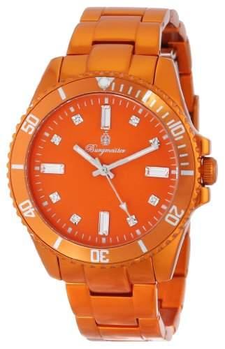 Burgmeister Damen-Armbanduhr Color Sport Analog Quarz Aluminium BM161-090D