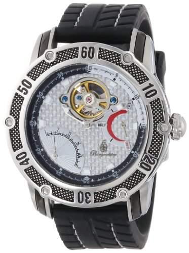Burgmeister Herren-Armbanduhr XL Colombo Analog Silikon BM213-112