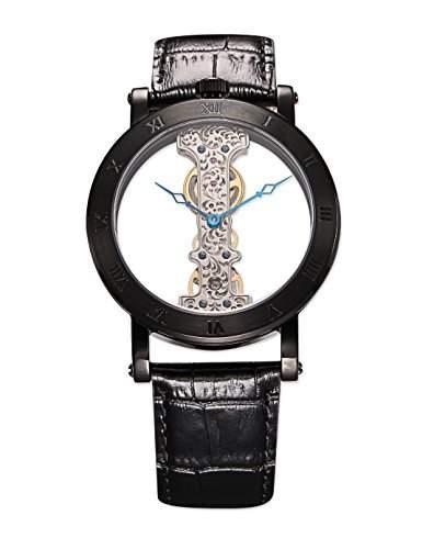 Burgmeister Herren-Armbanduhr Analog Handaufzug Kunstleder BM331-602A