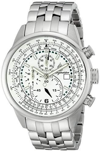 Burgmeister Herren Chronograph Melbourne mit Citizen Miyota OS10 Uhrwerk, BM505-181