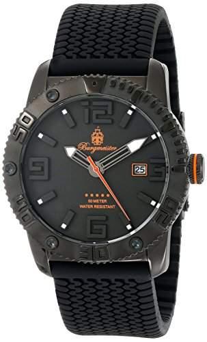 Burgmeister Herren Quarz BLACK!, BM522-622B