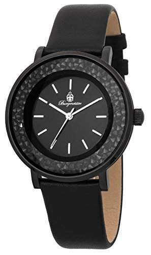 Burgmeister Damen-Armbanduhr Analog Quarz Leder BM537-622