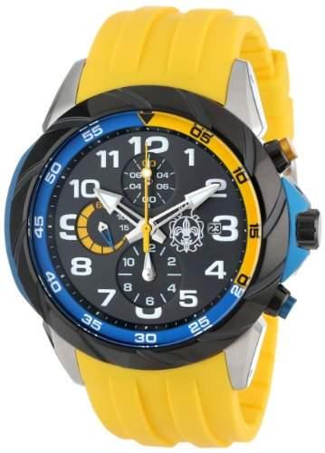 Burgmeister Herren-Armbanduhr XL Buenos Aires Chronograph Quarz Silikon BM702-120