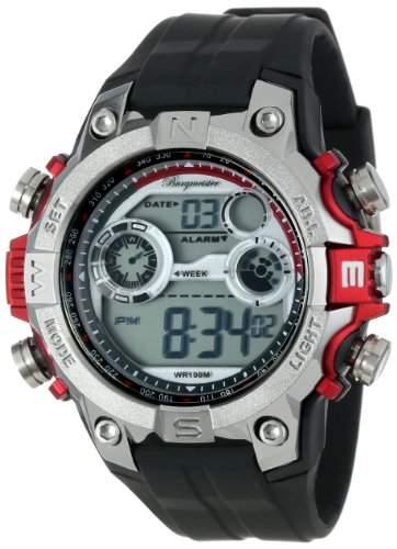 Burgmeister Herren-Armbanduhr XL Digital Power Silikon BM800-112A