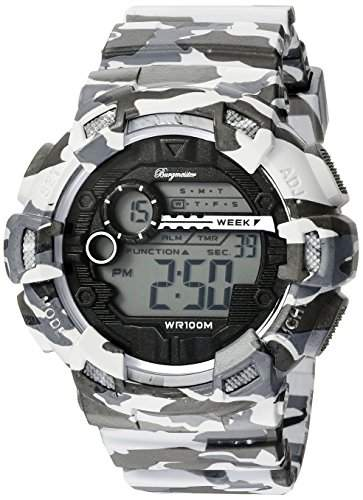 Burgmeister Herren Digital Alarm-Chronograph Halifax, BM803-020