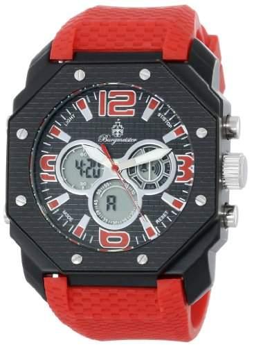 Burgmeister Herren-Armbanduhr Tokio Analog - Digital Quarz Silikon BM901-624